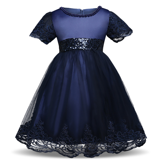 Gorgeous Baby Girl Party Wear Kids Summer Clothes Girl Lace Wedding