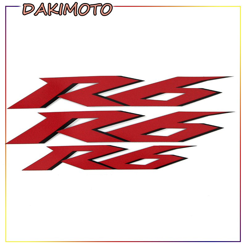 For YAMAHA YZF R6 Motorcycle REFLECTIVE Stickers FAIRING Decals