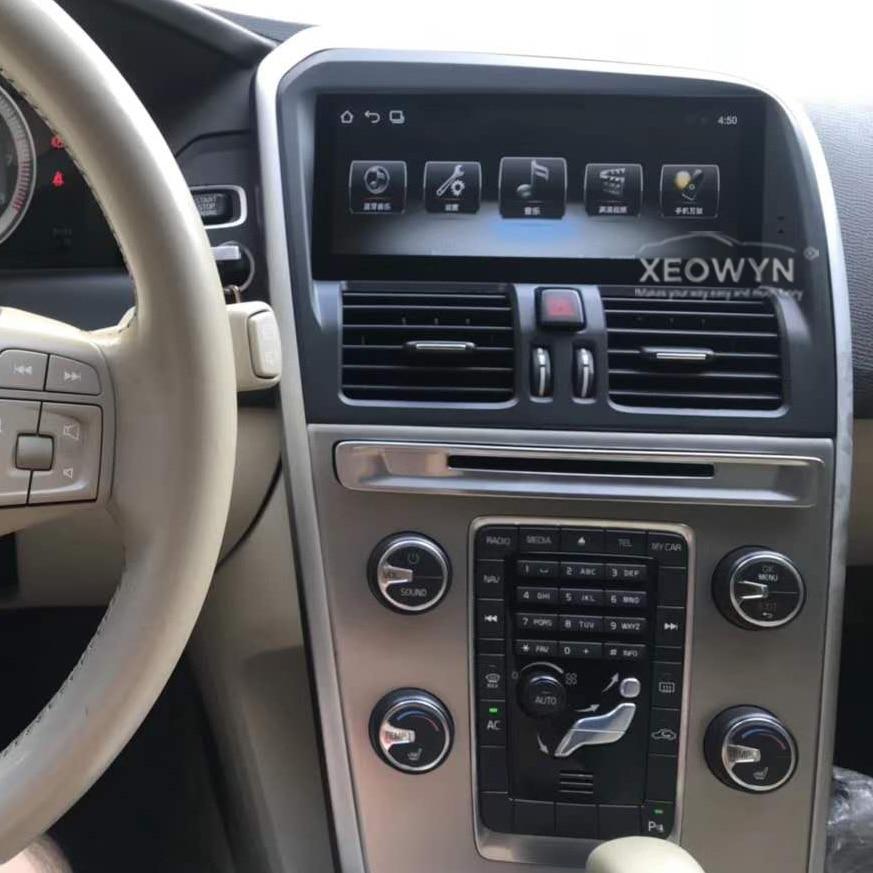 8,8 pulgadas RAM2G Android 7,0 PX3 auto Radio estéreo para Volvo XC60 2009-2015 navegación GPS de apoyo viaje información táctil completa