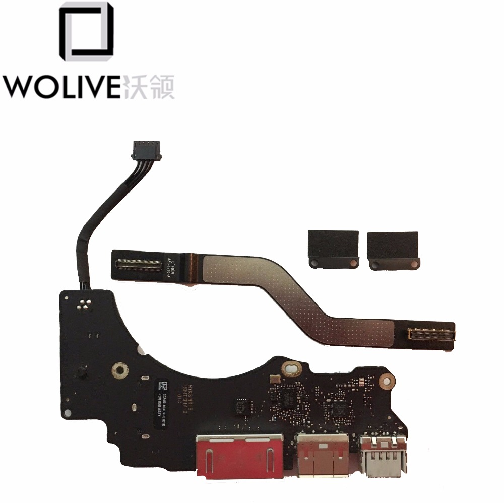 Original For Macbook Pro Retina 13 A1502 I/O Audio USB Board 2013 2014 820-3539-A USB, HDMI, SD Card reader
