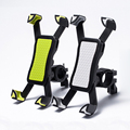 Newest Non-slip Universal 360 Rotating Bicycle Bike Phone Holder Handlebar Clip Stand Mount Bracket For Smart Mobile Cellphone
