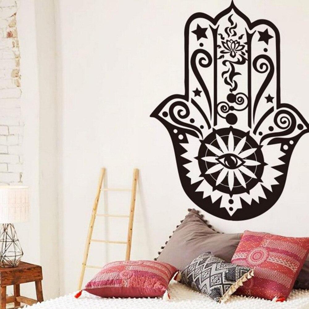 colores religiosa symblos plantillas para paredes islmico vinilos decorativos paredes extrable impermeable decoracin del hogar en