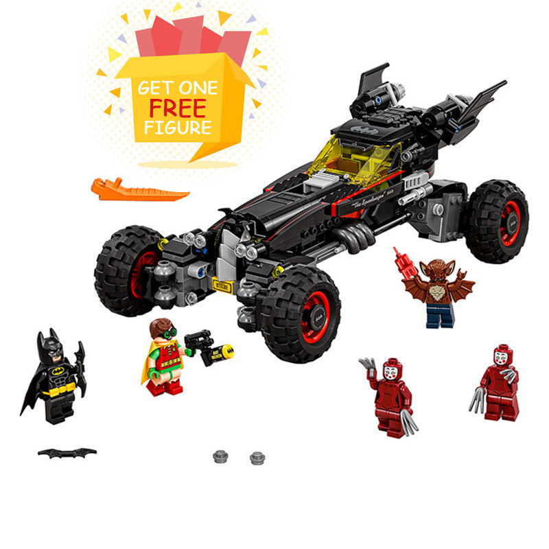 Bela Pogo Compatible Legoe 70905 10634 Batman The Batmobile Super Heroes Marvel Avengers Building Blocks Bricks toys for child 2017 lepin 07045 batman movie batmobile features robin man bat kabuki building block toys compatible with legoe batman 70905