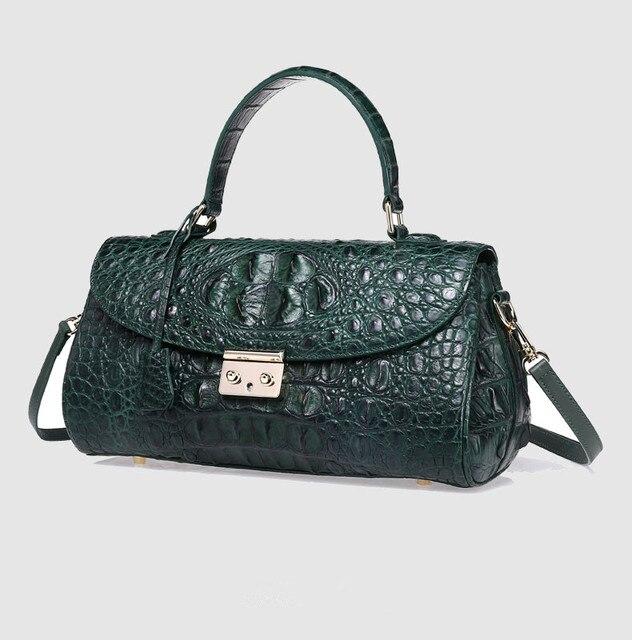 674e9a036dcc Real crocodile package Genuine Leather handbags hot sales women handbags  bags business wallet
