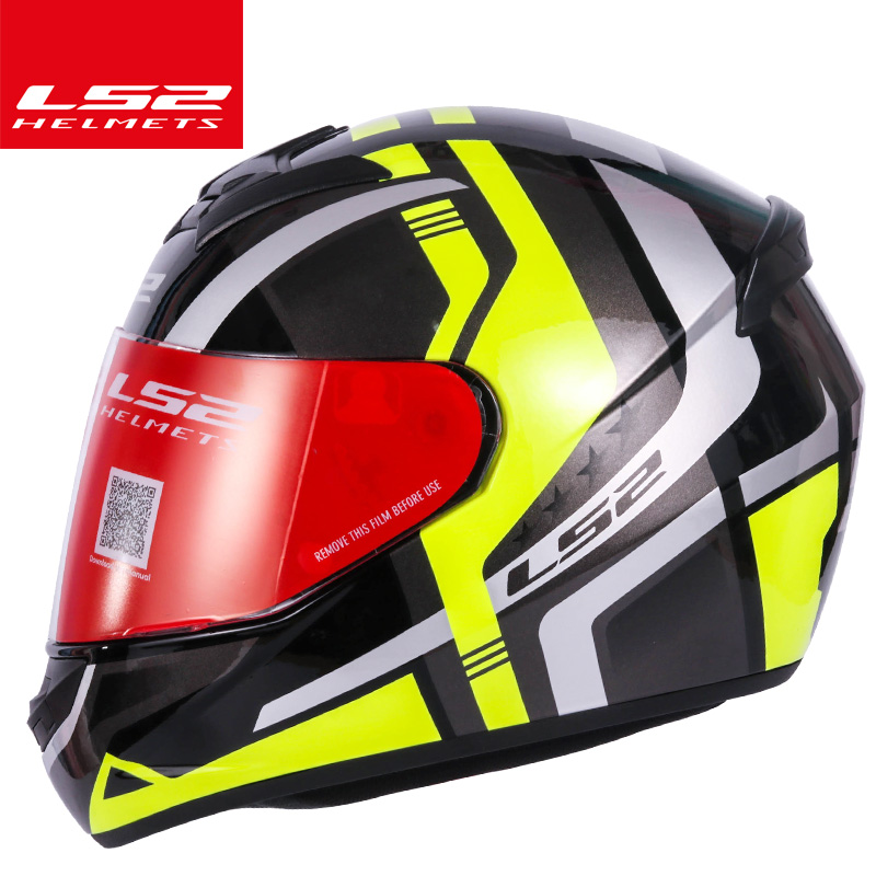 100% оригинал LS2 FF352 анфас мотоциклетный шлем городской гоночный мотоцикл шлем скутер шлем КАСКО мото шлемы лошади