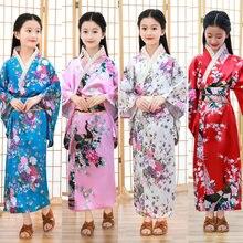 girls kimono mujer kimono femme japan yukata kids japanese kimono traditional japan style dress traditional dress