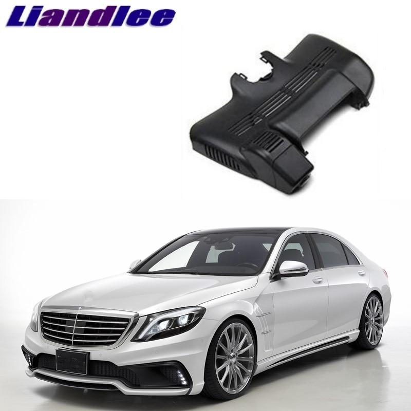 Liandlee For Mercedes Benz S MB W222 2005~2013 Car Black Box WiFi DVR Dash Camera Driving Video Recorder