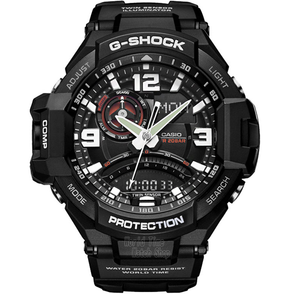 Casio watch Aerial outdoor sports electronic waterproof male watch GA-1000-1A GA-1000-1B GA-1000-2B GA-1000-4A GA-1000FC-1A