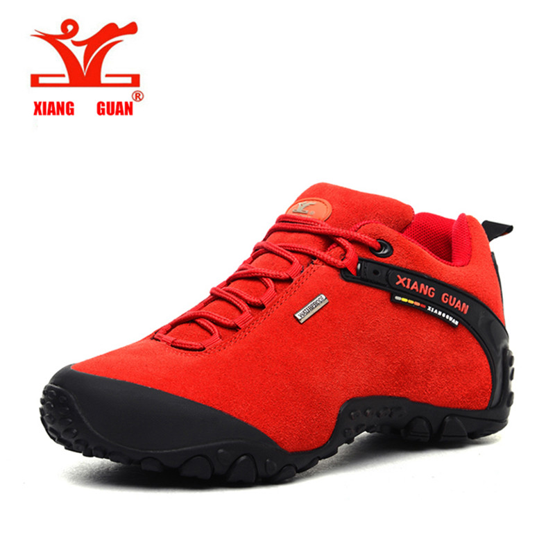 ФОТО brand outdoor men outdoor hiking shoes slip-resistant waterproof hiking Sneaker men outdoor sports shoes high quality trainers