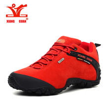brand outdoor men outdoor hiking shoes slip-resistant waterproof hiking Sneaker men outdoor sports shoes high quality trainers