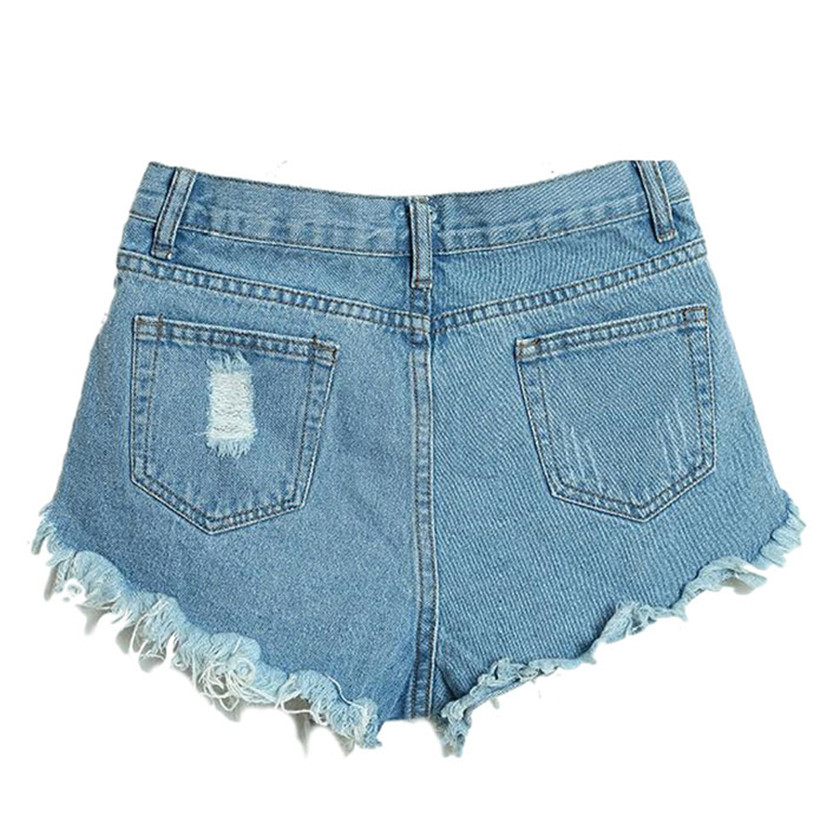 Delicate Hot! short feminino Summer Sexy Women Fashion Slim Fit Bore Hol Denim Shorts pantalones cortos mujer al21 wholesale