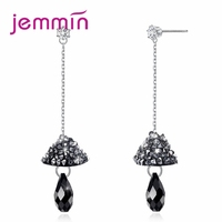 Jemmin Special Art Design Punk Style Long Pendant Earrings For Women Fashion Jewlery 925 Sterling Silver Attractive Earrings