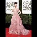Lily collins ª globo de oro 2017 red carpet vestidos de la celebridad