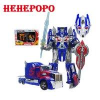 Children S Transformers Robot Model Gift Mask Set Deformation Toys