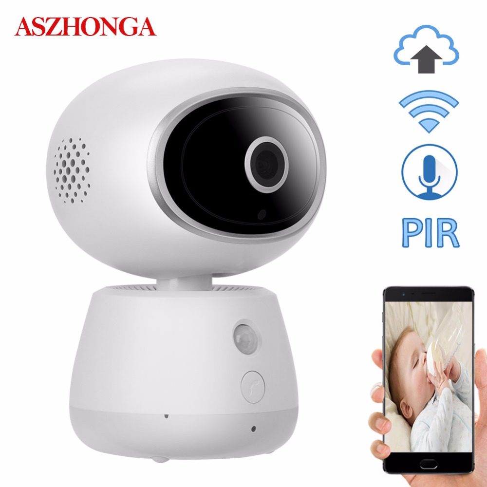3MP Home Security IP Camera PIR Night Vision Wireless Wi Fi PTZ CCTV Surveillance Baby Monitors