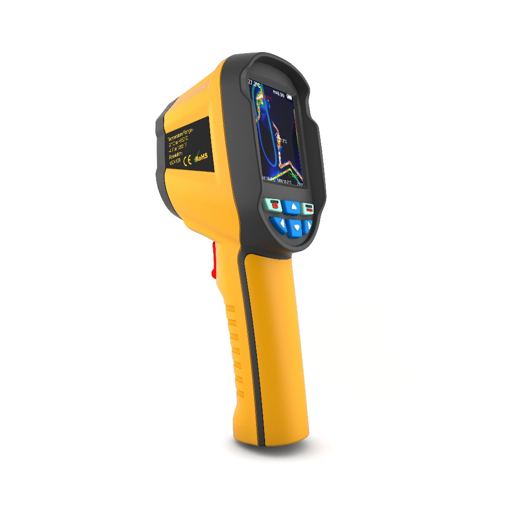 HT02 Digital Infrared Thermography Thermal Camera With 2-4 inch Color Lcd Display 6