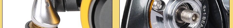 10BB Molinete Vissen Spinnewiel 23