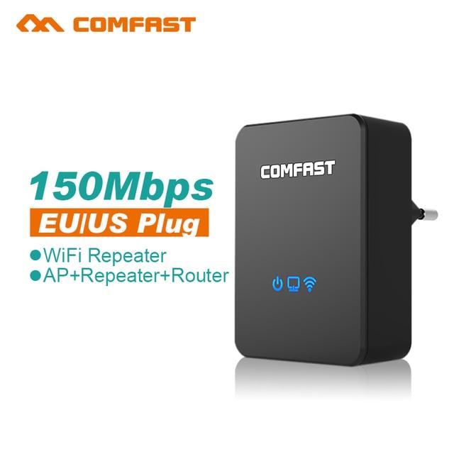 Comfast Беспроводной WI-FI Маршрутизатор 150 Мбит 802.11 Wi-fi точка доступа усилитель сигнала wi-fi усилитель портативный беспроводной wi-fi ретранслятор
