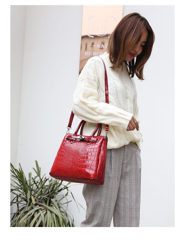 2019 bolsa feminina de couro do plutônio