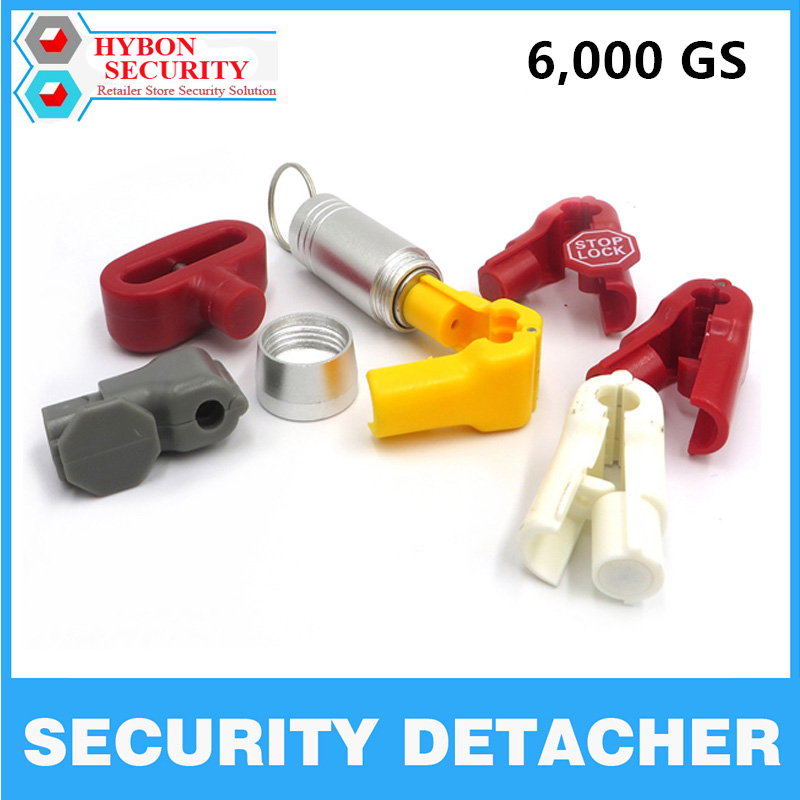 HYBON 6000GS Mini Magnetic EAS Tag Remover EAS Security Tag Detacher Hook Key Lockpick Opener Eas Tag Security Detacher Magnetic