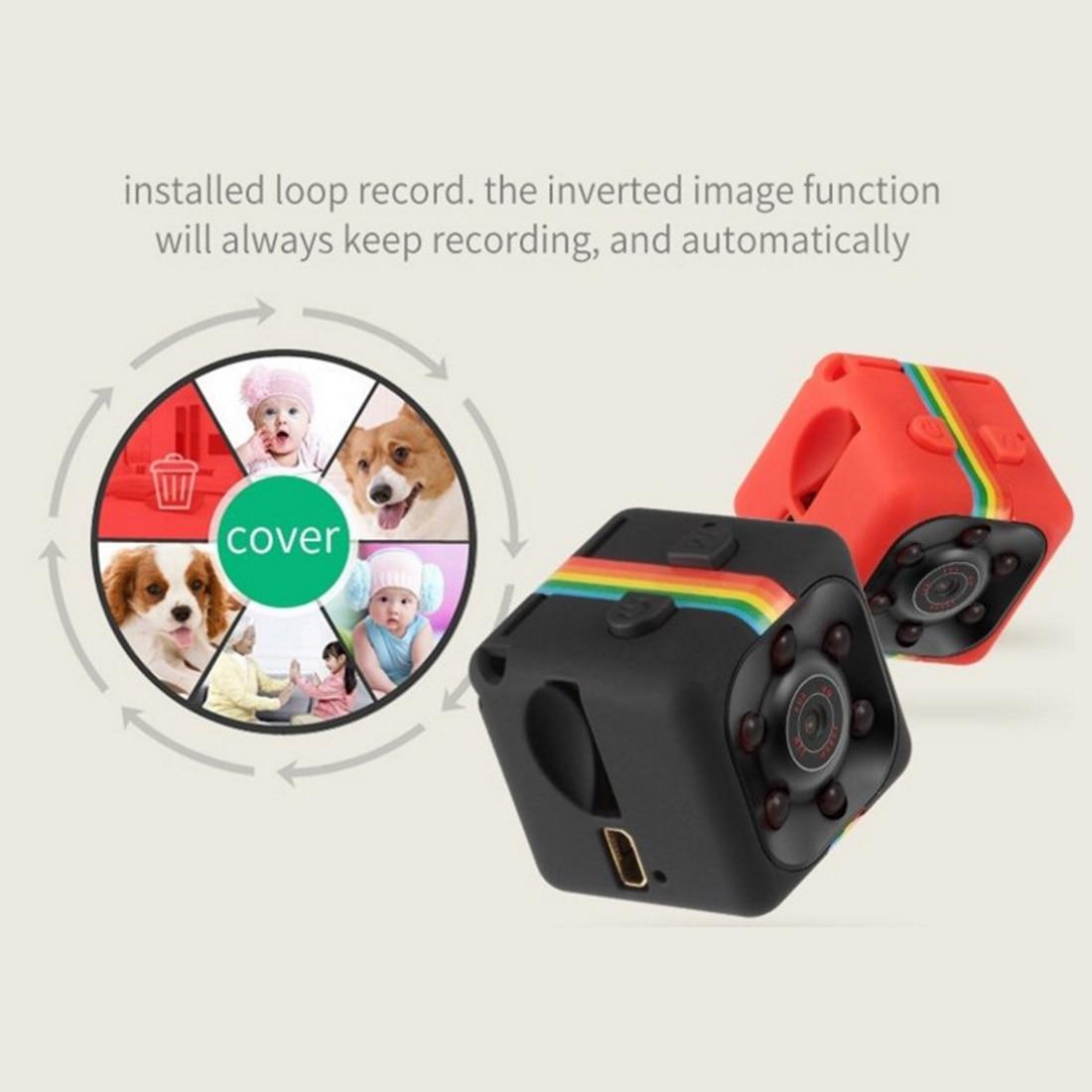 HONGDAK Nero/Blu Mini Macchina Fotografica SQ11 HD 1080 P Camcorder Visione Notturna di HD Mini Macchina Fotografica Aerea Sport Mini DV Video Recorder Voice