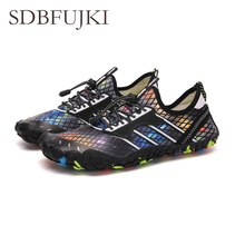 2019 Barefoot Sneakers Swimming Shoes Summer Water Shoes for Unisex Outdoor Quick Dry Lightweight Beach Swim Aqua Shoes Sandals