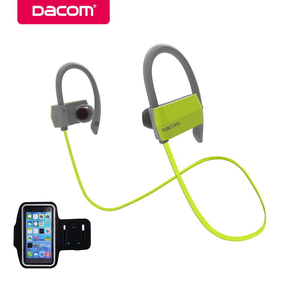 Dacom G18 bluetooth headphone earphone hands-free stereo earpiece headset wireless sport earbuds with mic for iPhone Samsung f98 2016 newestnew bluetooth headphone wireless stereo headset earbuds earphone for iphone samsung free shippingfree shipping