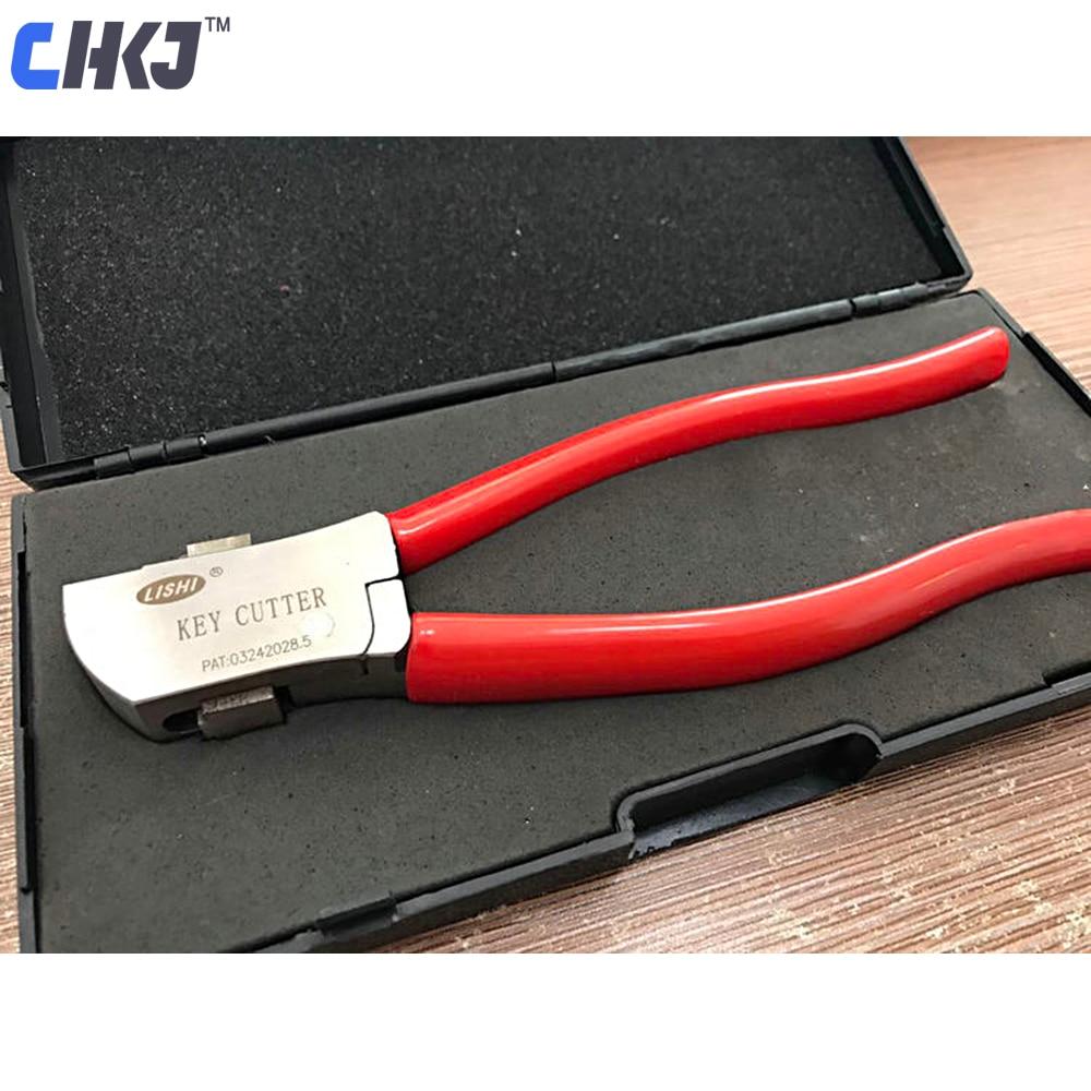 CHKJ Original Lishi Key Cutter Locksmith Car Key Cutter Tool Auto Key Cutting Machine Locksmith Tool Cut Flat Keys Directly