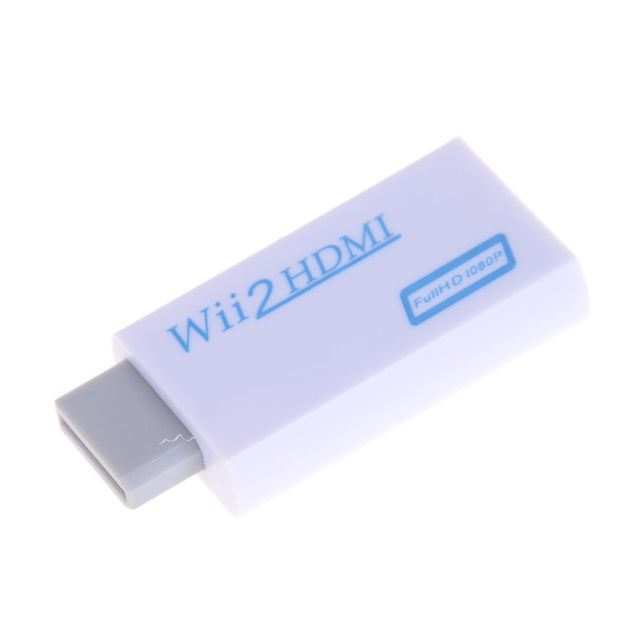 for Wii to HDMI Adapter Converter Support Full HD 720P 1080P 3.5mm Audio Wii2HDMI Adapter for HDTV