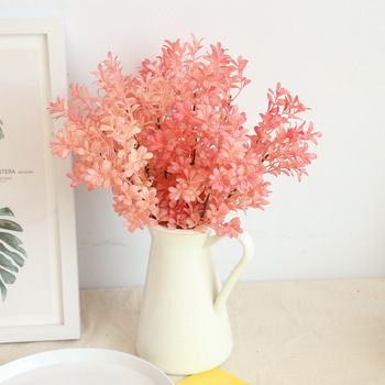 Sträuße Für Männer | 10 Teile/los Hohe Qualität 36,5 Cm Künstliche Blume Champagner Blätter Home Hotel Hochzeit Hand Bouquet Luxus Floral Decor
