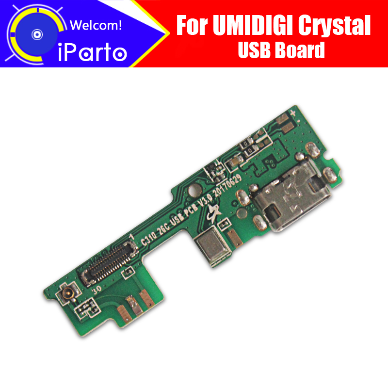UMIDIGI Crystal usb board  100% Original New for usb plug charge board Replacement Accessories for UMIDIGI Crystal phone