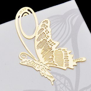 Free ship! 1ot=30pc !creative cute brass-plated bookmark /metal boookmarks/promotional gift