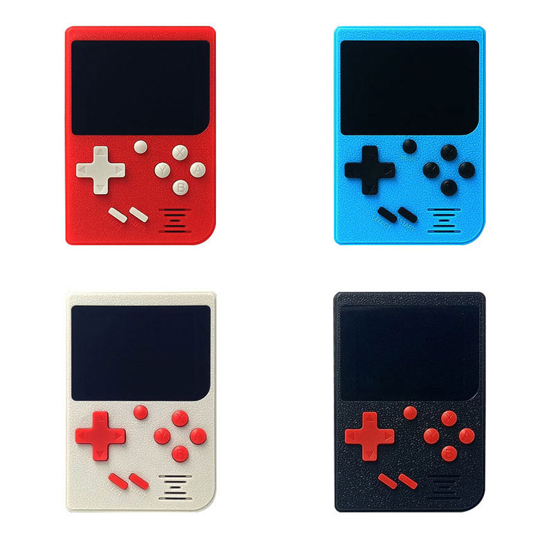 Retro Portable Mini Handheld Game Console 8-Bit 2.4 Inch Color LCD Kids Game Player Boys Built-in 129 games Support AV Output image