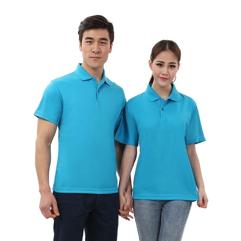 2016 man women button polo shirt student youth boys girls for No button polo shirts