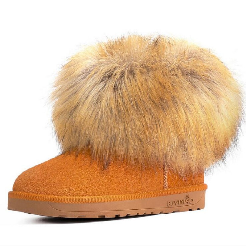 2017 hot sale women snow boots warm winter women genuine leather boots faux fox fur ankle boots for women winter shoes 2016 hot sale male snow boots genuine leather ankle suede snow boots winter shoes for men and women mens boot shoe 35 48
