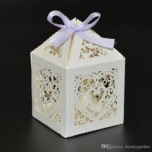 60pcs/lot Wedding Party Candy Box Mini Sweetmeat Chocolate Paper Packing Case Heart Shape Sweet Gift Holder Bag wc147