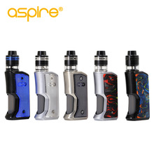 Kit de cigarrillo electrónico Aspire Feedlink Revvo Boost Kit 80W Squonk Mod 2ml Tank ARC Coil E Cigarette Vape Vaporizador Kit