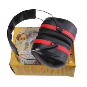 Image 5 - NEUE Anti lärm Ohrenschützer Ohr Outdoor Jagd Schießen Schlaf Schalldichte Ohr Muff fabrik lernen Stumm Ohr schutz