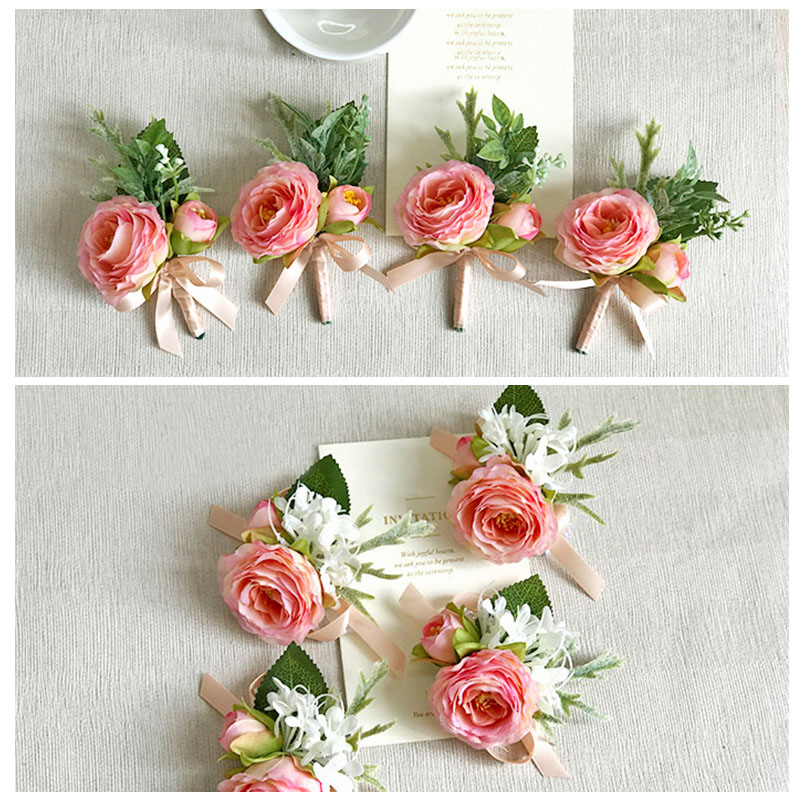 wedding boutonniere corsage