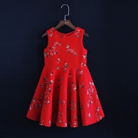 Winter fashion Family Matching outfits kids girl Clothes sleeveless formal dress family look Mother Daughter evening party Dress