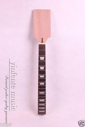 New Electric Guitar neck Solid wood Paddle Frerboard Low Price 22 fret #17A handmade new solid maple wood brown acoustic violin violino 4 4 electric violin case bow included