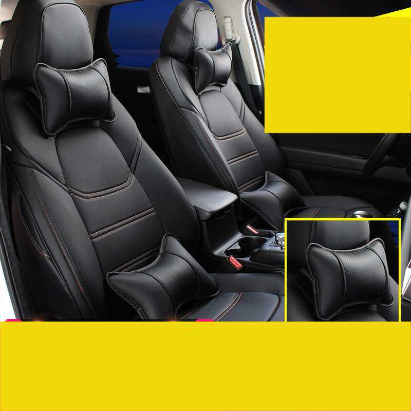 Lsrtw2017 5d fiber leather car seat cover for mazda cx 5 2017 2018 2018 2019 2nd