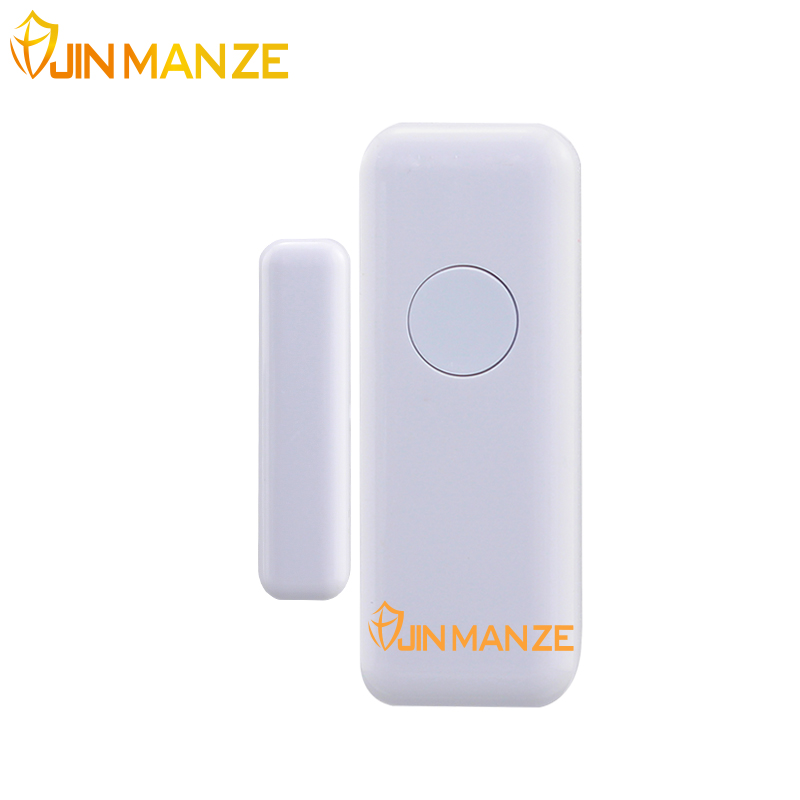 JINMANZE High Quality Wireless Home Security Door Window sensor for Alarm System Magnetic Sensor 1pcs free shipping