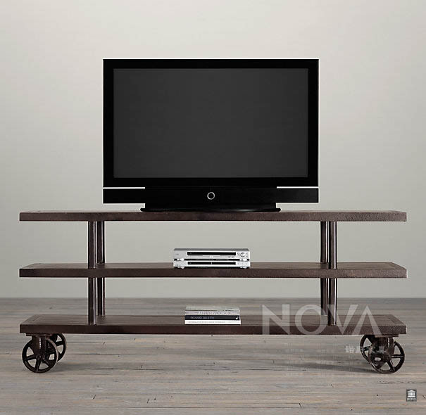 Single American Country S Exports Of Industrial Style Tv Cabinet