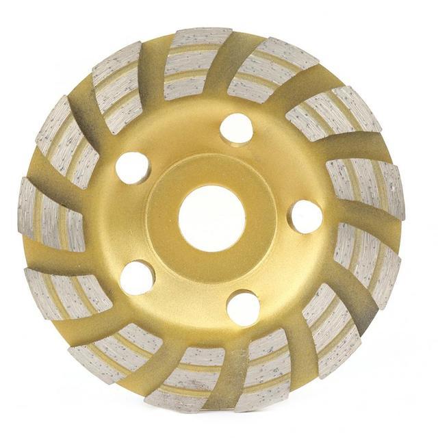 125*22.2mm Diamond Segment Grinding Wheel Cup Cutting Disc for Concrete Marble Granite Diamond Grinding Wheel