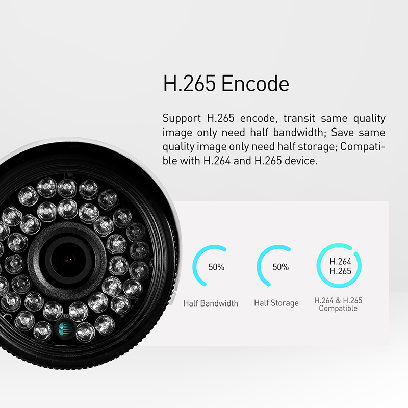 Image 4 - H.265 POE Waterproof 3MP 1296P / 1080P Outdoor IP Camera IR LED Bullet Security Night CCTV Video Surveillance HD Cam System-in Surveillance Cameras from Security & Protection