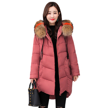 Extra Large Size Thick Cotton Female Long Parka Section Increase Clothing Jacket Women Winter Hooded Coat 6XL Fur Collars