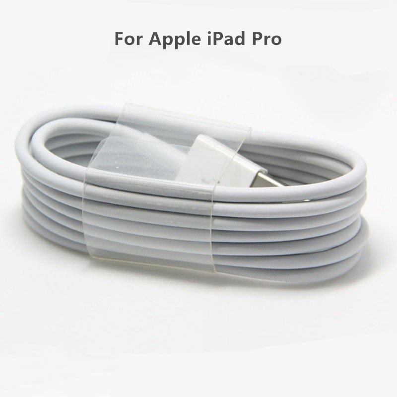 Charging Cable 1 2 Meter USB Sync Data Charging Charger Cable For Apple IPad Pro Cord White Black Color Mobile Phone Accessory