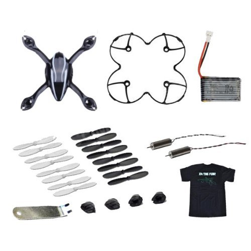Hubsan x4 h107 h107l rc quadcopter spare parts value pack for Hubsan x4 h107l motor upgrade