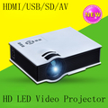 Top Selling Digital Home Cinema HD LED Video Projector With USB SD HDMI Compatible With Phone Computer Office Home Display